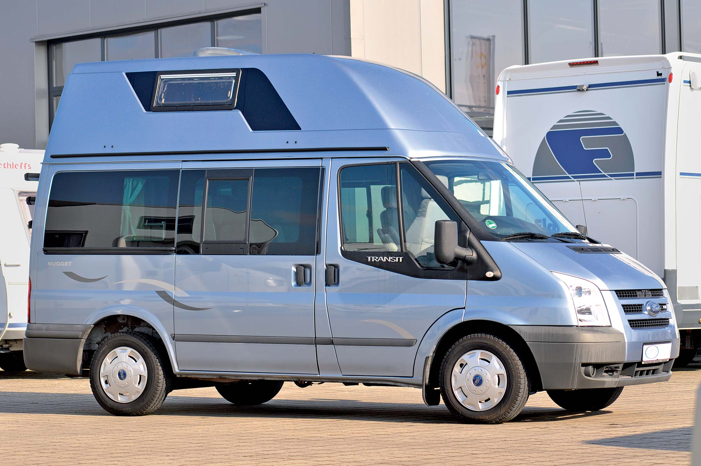 gebrauchtwagen check ford nugget kurz und hoch reisemobil internationalreisemobil. Black Bedroom Furniture Sets. Home Design Ideas