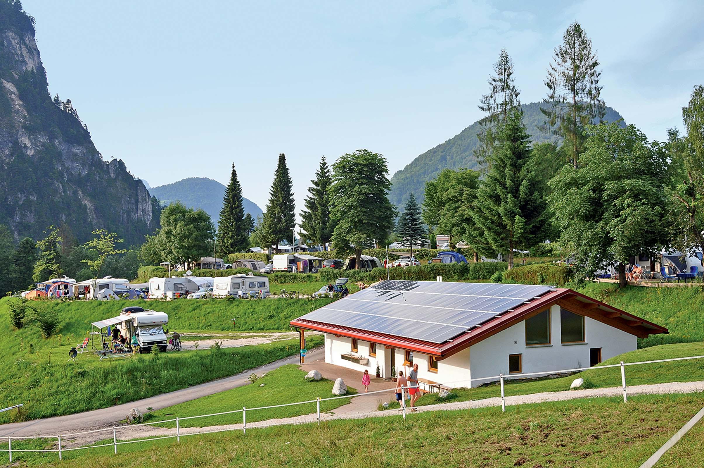 stellplatz am camping resort allweglehen berchtesgaden. Black Bedroom Furniture Sets. Home Design Ideas
