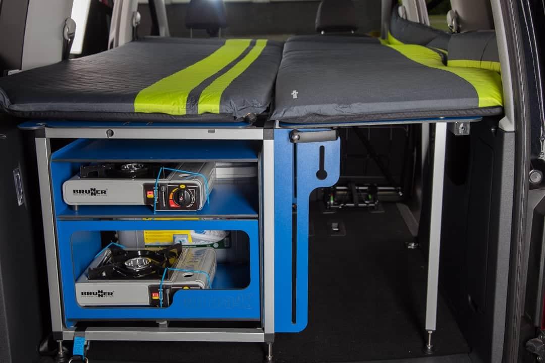 Caddy Dachzelt : Kofferraum kumpel für kombis reisemobil international