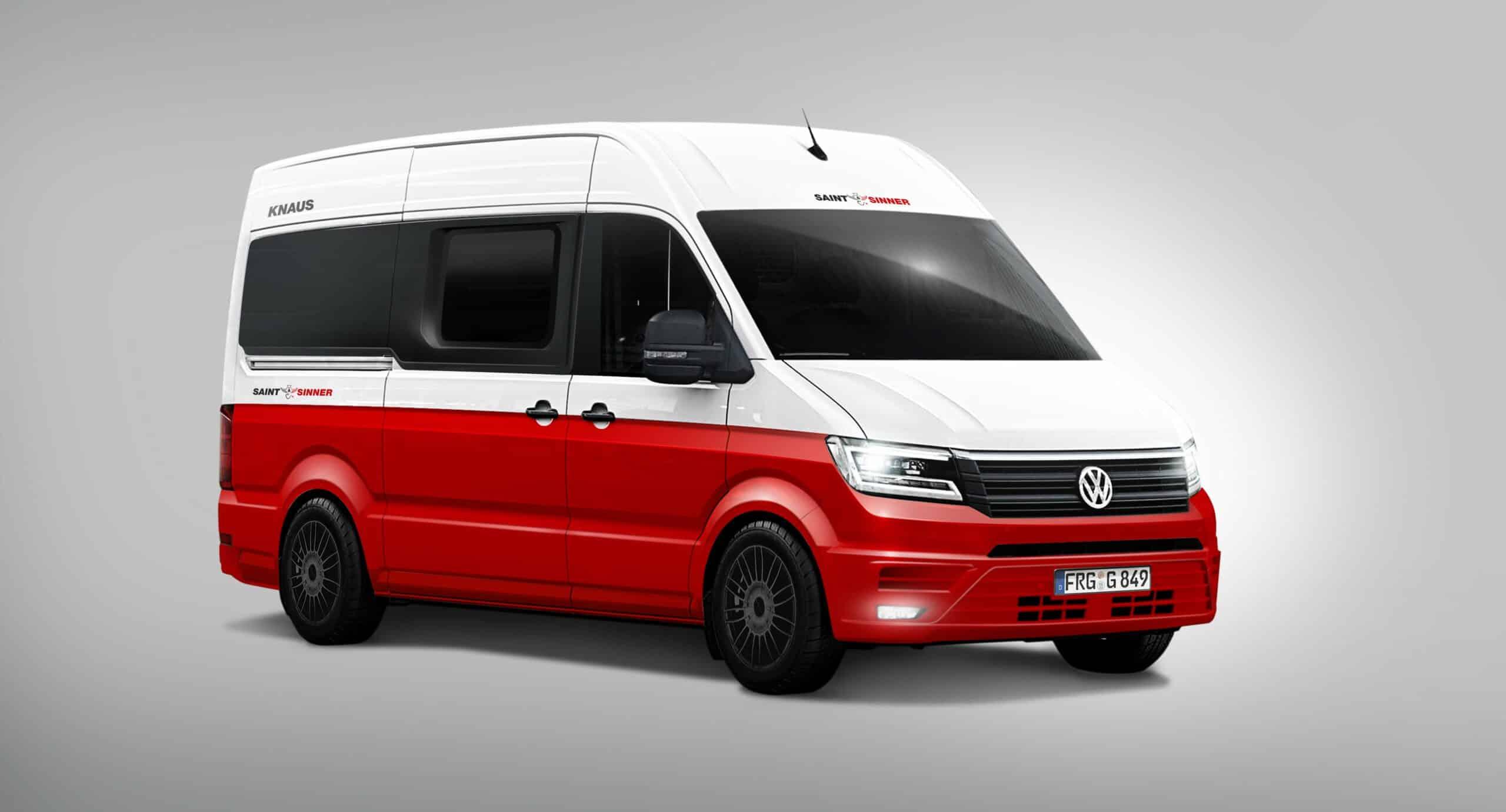 Saint & Sinner auf VW Crafter   Reisemobil International