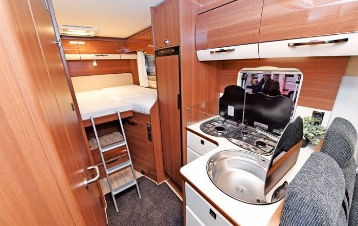 LMC Cruiser Comfort T 672G 2018 mit Bett und Küche