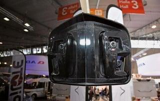 Neuartiges Kamerasystem von Le Voyageur auf der CMT 2018 in Stuttgart