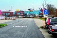 Stelplatz am CITTI-Park Flensburg für Wohnmobile