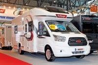 Premiere des neuen Genesis Reisemobils von Challenger