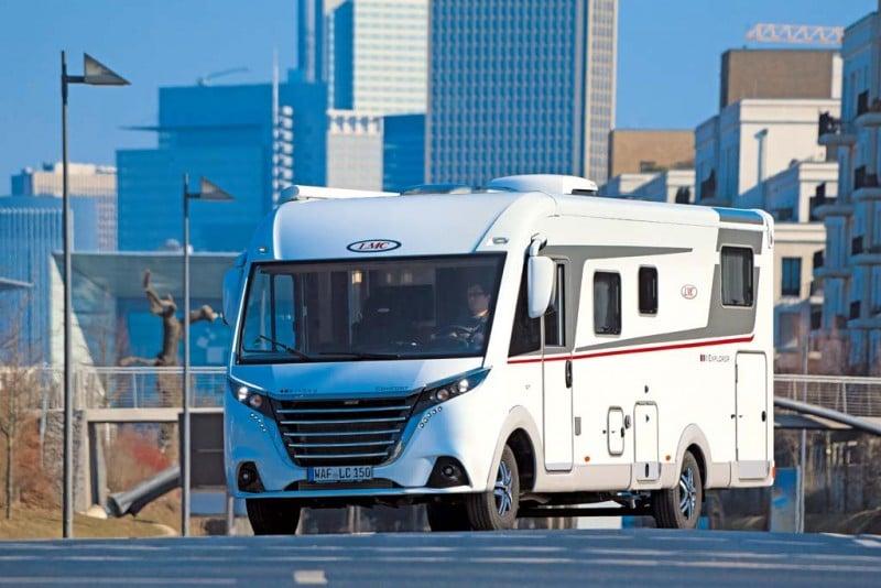 LMC Explorer Comfort I 735 G im Profitest von Reisemobil International