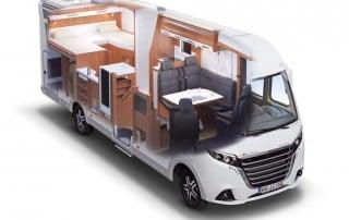 LMC Explorer Comfort I 735 G Grundriss