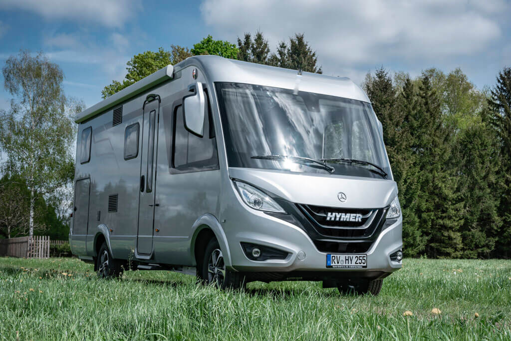premiere hymer wohnmobile auf mercedes benz sprinter 2019. Black Bedroom Furniture Sets. Home Design Ideas