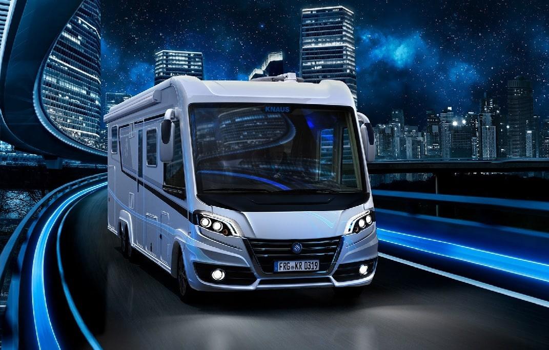Wohnmobil mieten leicht gemacht: Knaus bietet mittlerweile 1200 Mietfahrzeuge an.