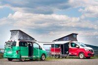 Nissan bringt mit dem e-NV200 seinen ersten E-Camper nach Europa.