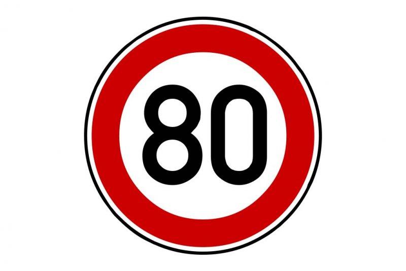 Tempolimit 80