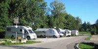 Abends kommen die Waschbären: Wohnmobil-Stellplatz in Gaildorf.