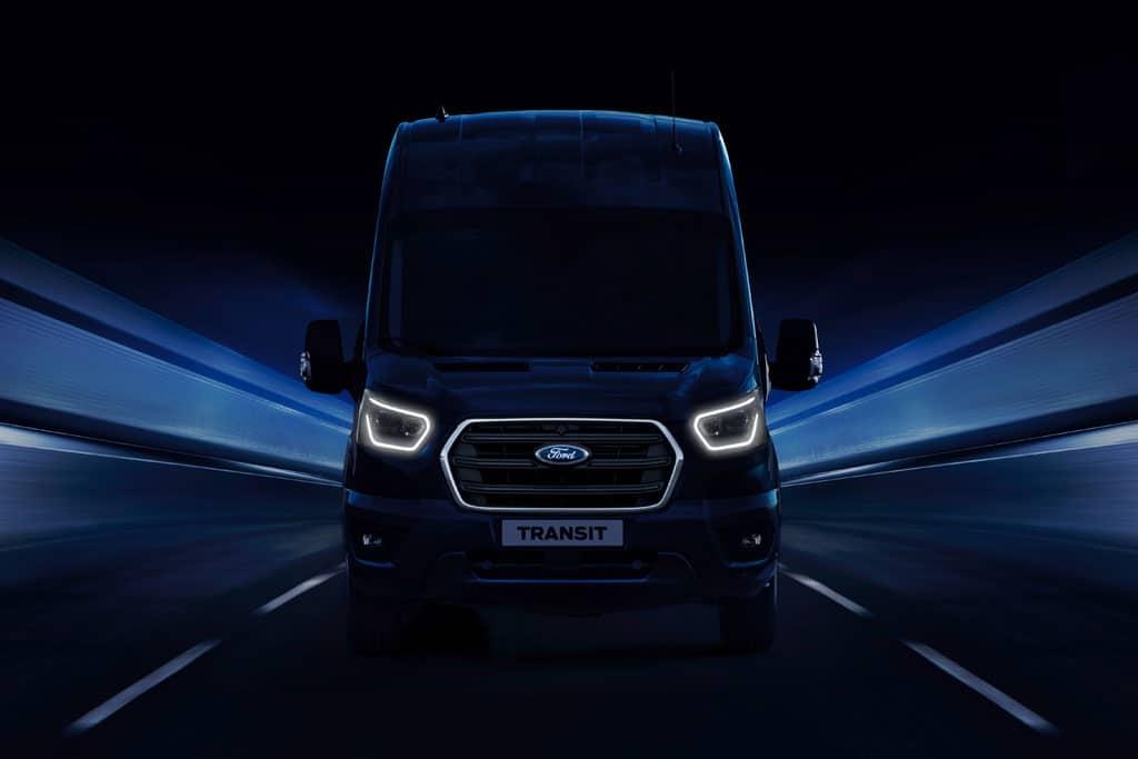 Ford präsentiert auf der IAA Nutzfahrzeuge als Weltpremiere den neuen Transit, der Mitte 2019 auf den Markt kommt.