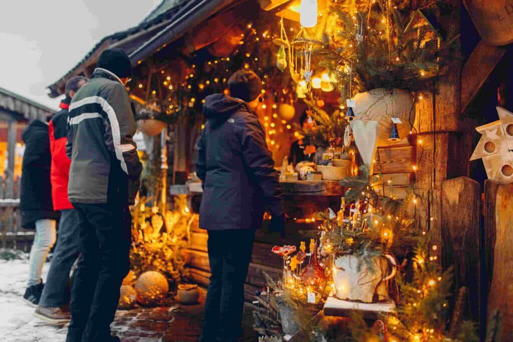 Weihnachtsmarkt an der Erlebniswelt SteinReich