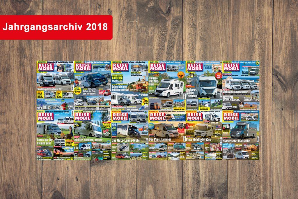 Jahrgangsarchiv 2018 von Reisemobil International