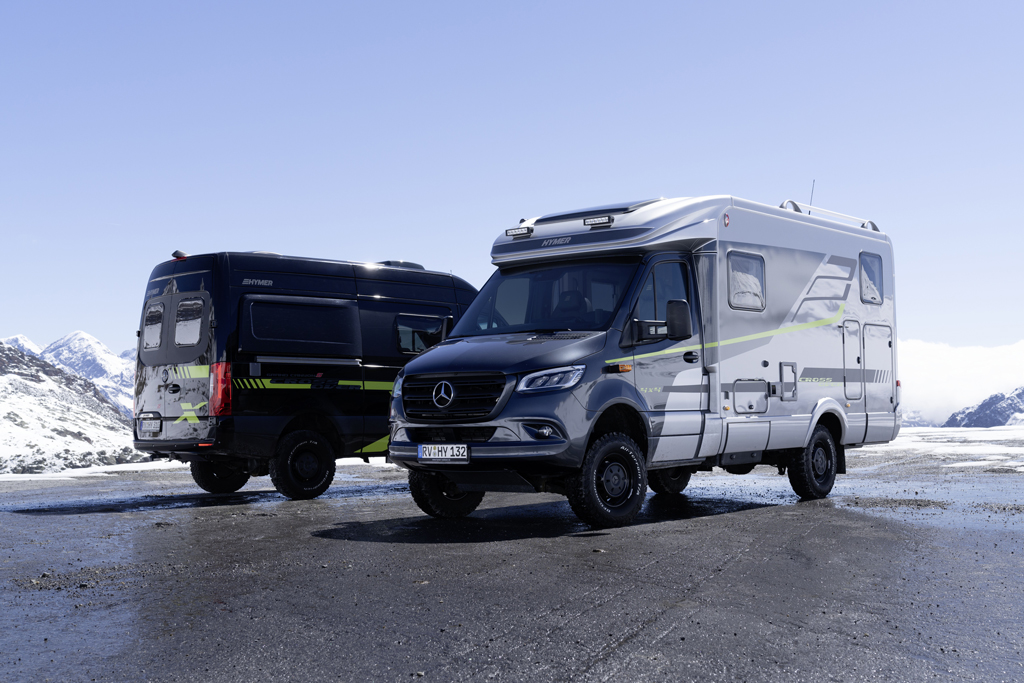 Hymer MLT 570 CrossOver & Hymer Grand Canyon S CrossOver