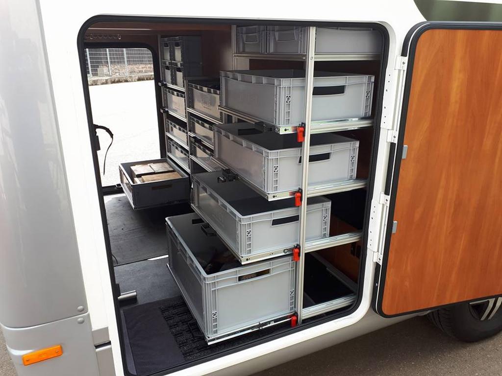 Wohnmobil-Stauraum nutzen - Reisemobil International