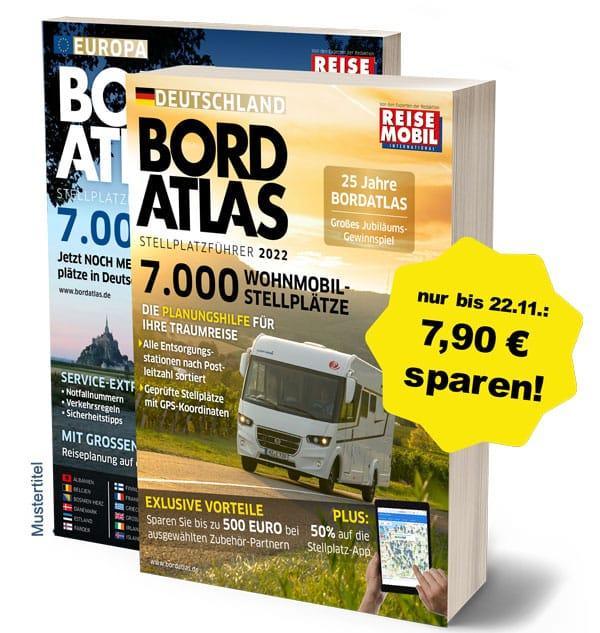 Bordatlas Stellplatzführer 2022